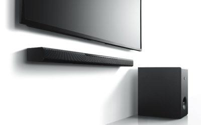Diseño minimalista para un sonido a lo grande, así es YAMAHA MusicCast Bar 400