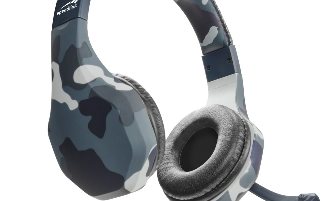 Speedlink® Raidor:  audio de camuflaje para Playstation PS4
