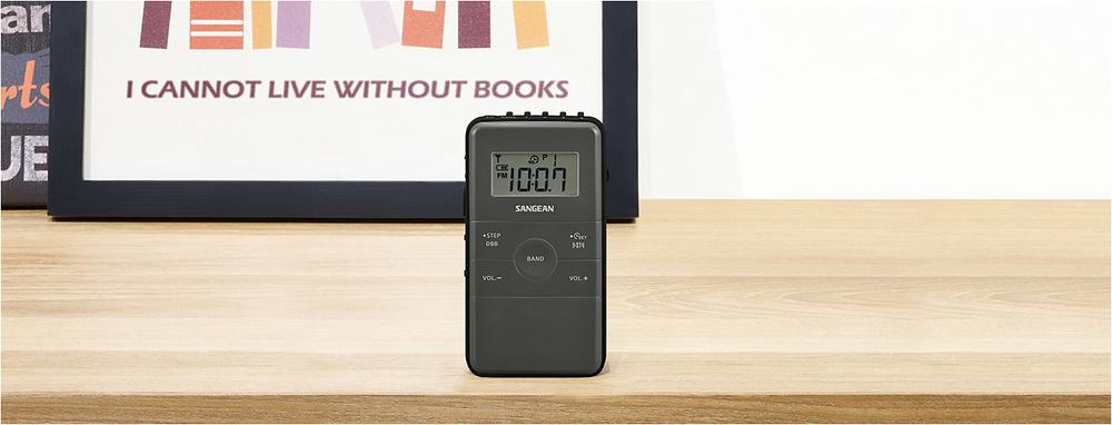 Sangean Pocket 140:  Una radio intuitiva y recargable para llevar a todas partes