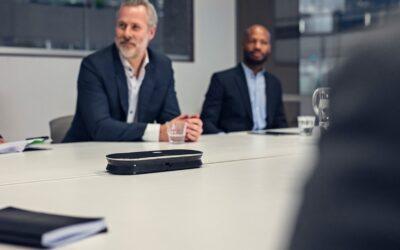 EPOS EXPAND 80, un altavoz para conferencias en salas de reuniones de grandes dimensiones