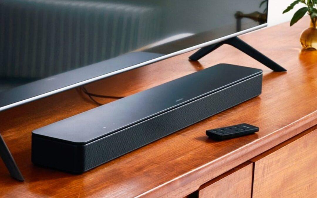 Bose Smart Soundbar 300: más posibilidades de control por voz