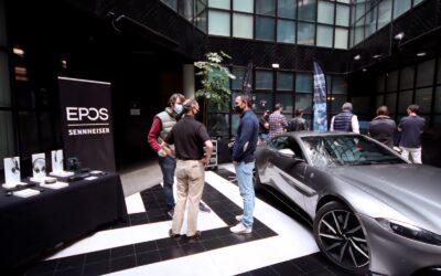 EPOS y Aston Martin trasladan a sus partners la emoción de la Fórmula 1 y el mejor audio