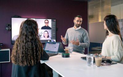 EXPAND CAPTURE 5, el nuevo altavoz inteligente de EPOS para el trabajo híbrido con Microsoft Teams Rooms